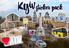 "Stiker pack ""Kyiv"""
