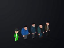 Персонажи для 2D игры (Вариант 1)