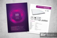 Дизайн каталога LED