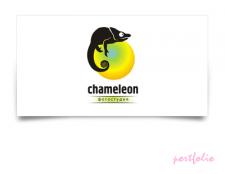 Логотип фотостудии Chameleon
