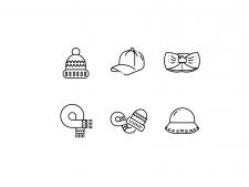 Иконки для магазина шапок
