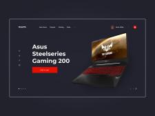 Асус Магазин Ноутбуков | Концепт сайта