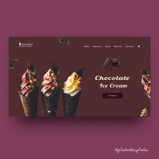 First screen for ice-cream