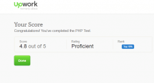 Upwork PHP test