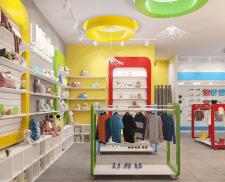 Дизайн-проект интерьеров магазина детских товаров