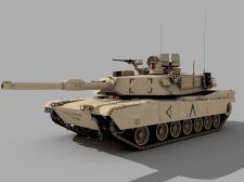 """Военная техника - M1A1 """"ABRAMS"""""""