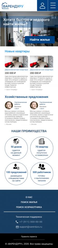 ВАРЕНДУРУ (мобильная и планшетная версия)