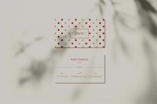 Business card for lingerie brand