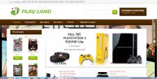 Интернет магазин игрового оборудования Opencart