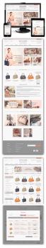 Интернет-магазин сумок David Jones Odessa