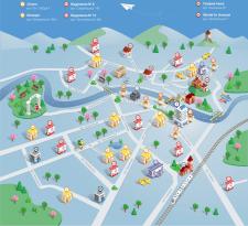 Карта корисних закладів