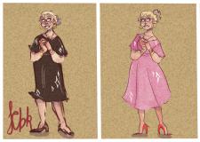 Жінка в різному віці