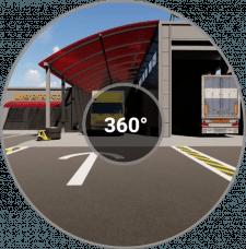 Визуализация майки грузовых автомобилей