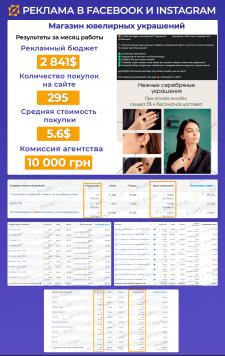 Реклама интернет-магазина ювелирных украшений