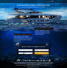 Promotional website LondonFX