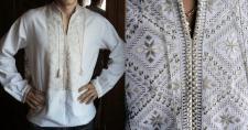 Рубашка вышитая гладью (Українська вишиванка)
