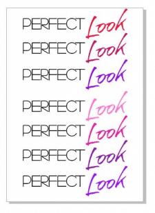 Изменение цвета логотипа (макет заказчика)