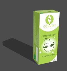 Упаковка зелёного чая