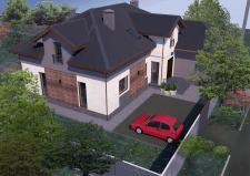 дом в Буче (эскизные предложения)