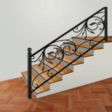 ковка на лестнице