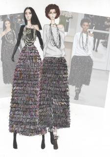 Иллюстрация к показу Chanel