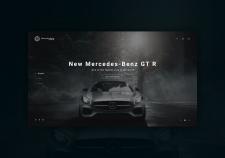 Mercedes-Benz | First screen