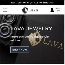 Верстка шаблона Shopify для магазина ShopLava.com