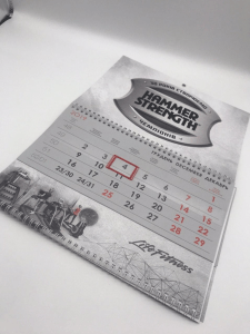 Создание макета календаря и печать