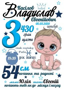 Метрика, постер