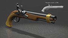 Дуэльный пистолет