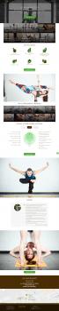 Мультиязычный корпоративный сайт для йога-студии
