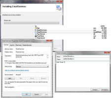 Сетевая SMTP-POP3 служба