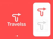 Plane T Letter Logo