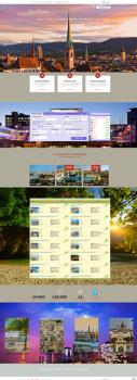 Сайт для туристической компании Арт Вояж