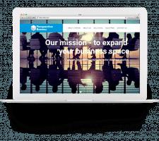 """Сайт для компании """"Perspective Bureau"""""""
