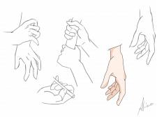 Иллюстрации рук