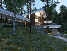 Комплексный проект дома и участка под Питером