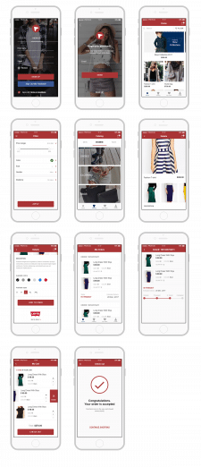 E Commerce App Design