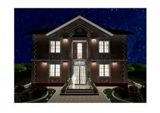 Разработка фасадов дома 1