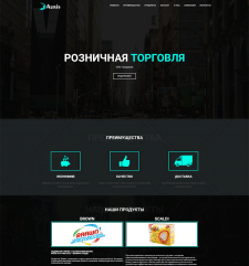 Разработка сайта для ЧУП «Аурис»