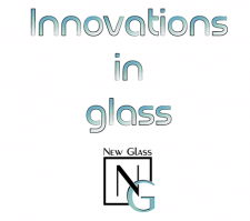 Logo design and catalog for the company New Glass