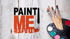Логотип Paint Me Stuio