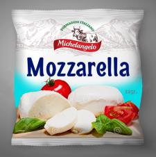 Разработка дизайна упаковки сыра Mozzarella