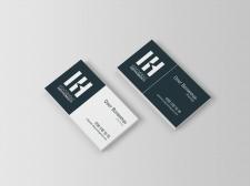 дизайн визитки для риелторского агенства