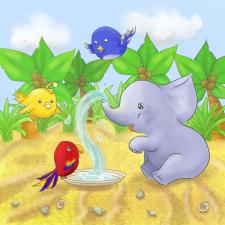 Иллюстрация для детской книжки