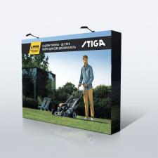 Дизайн выставочного стенда STIGA для компании ЭСКО