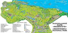 Карта Межигорья (2018 год)