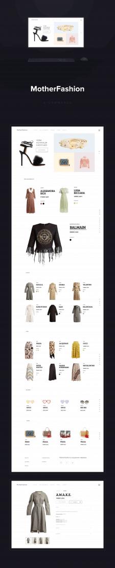 MotherFashion e-commerce