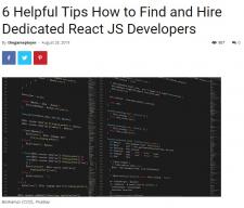 Dedicated React JS Developers