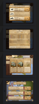 UI интерфейс мобильной игры